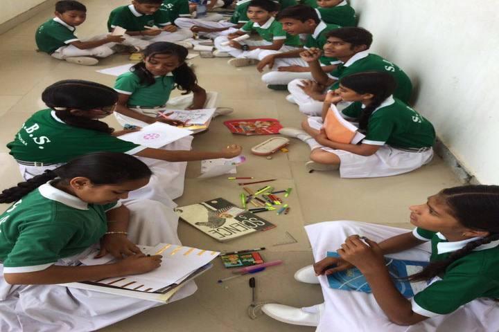 SBS Convent School-Drawing