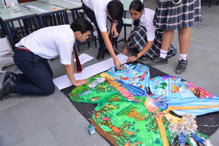 Seedling Modern High School-Painting