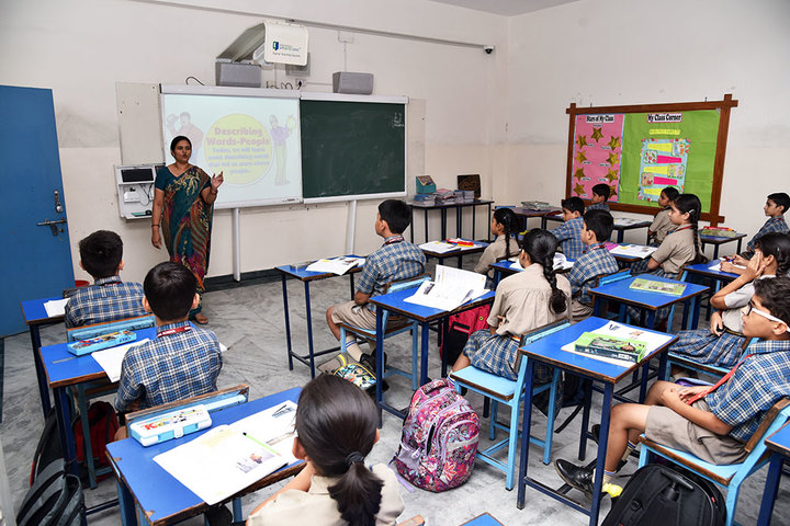 Seedling Modern Public School-Smart Class