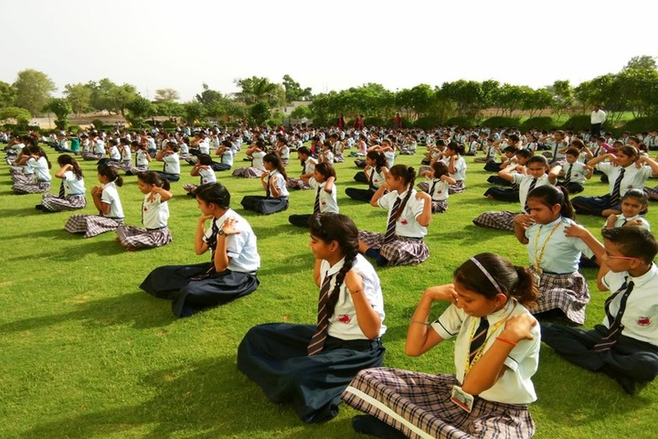 Sgr Public School-Yoga