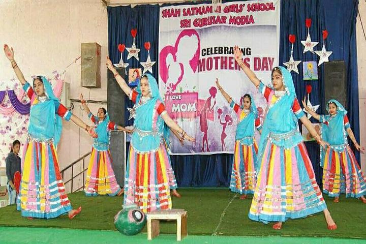Shah Satmamji Girls School-Events dance