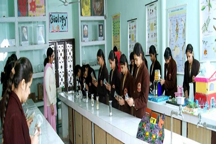 Shah Satmamji Girls School-Laboratory biology