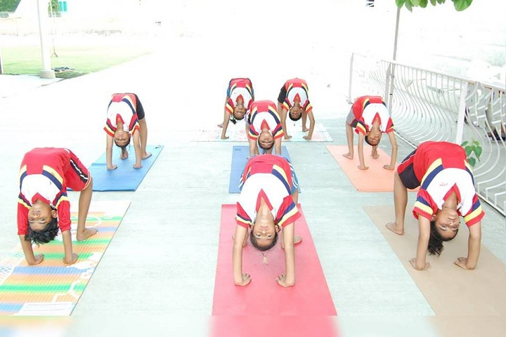 Shah Satmamji Girls School-Others yoga