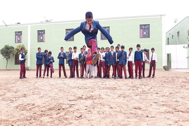Shah Satnam Ji Boys School-Sports jump
