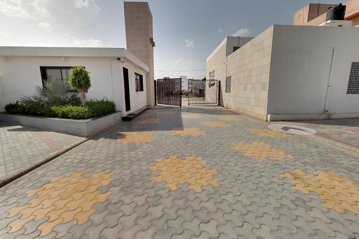 Shanti Asiatic School-Campus View Entrance
