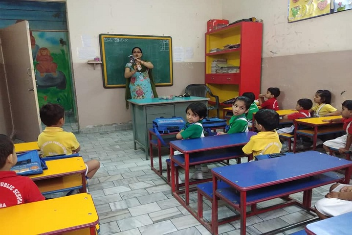 Shanti Niketan Public School-Classroom junior