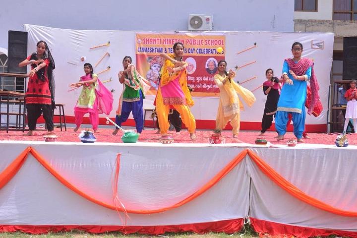 Shanti Niketan Public School-Events dance