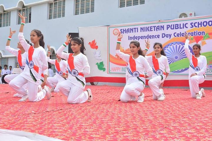 Shanti Niketan Public School-Events independance day programme
