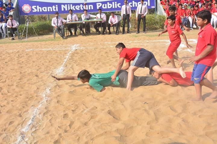 Shanti Niketan Public School-Sports kabbadi