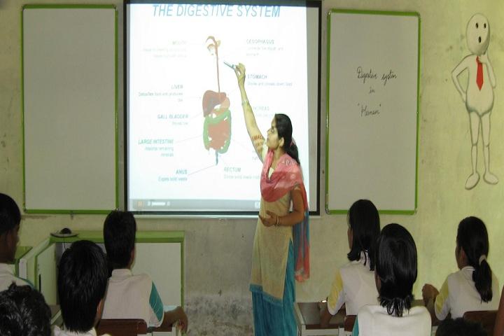 Shekhawati International Academy-Classroom smart