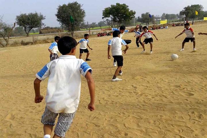 Shekhawati International Academy-Sports football