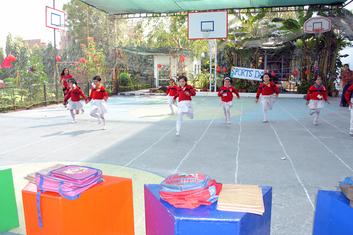 Shiv Jyoti Convent School-Sports running