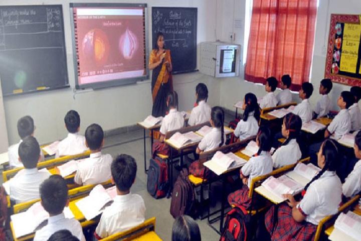 Shiv Jyoti Senior Secondary School-Classroom smart