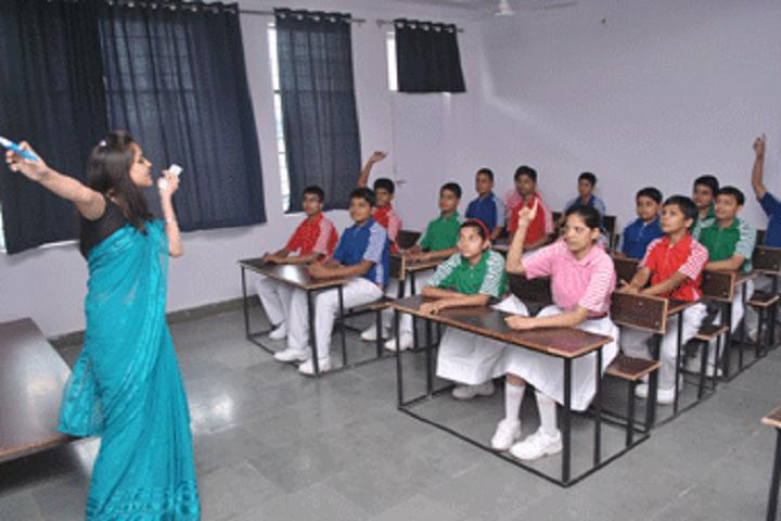 Shiv Jyoti Senior Secondary School-Classroom