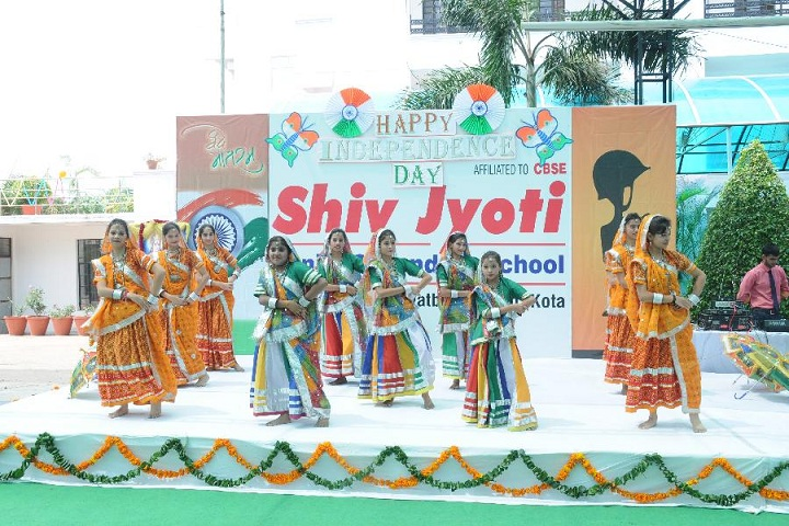 Shiv Jyoti Senior Secondary School-Events independance day programme