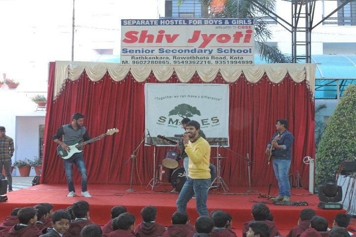 Shiv Jyoti Senior Secondary School-Events singing
