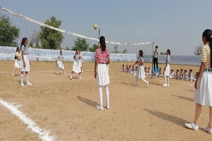Shree Deichand Mangeram Smart School-Sports vollyball