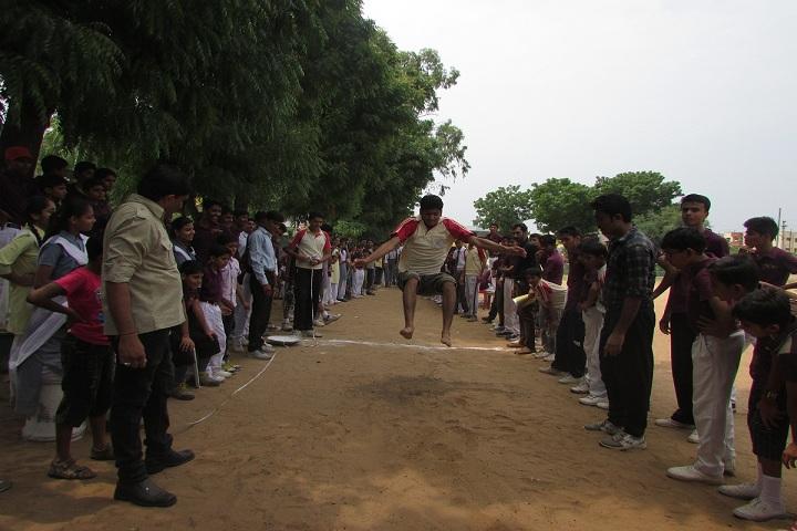 Shri Ajit Vidya Mandir-Sports jump