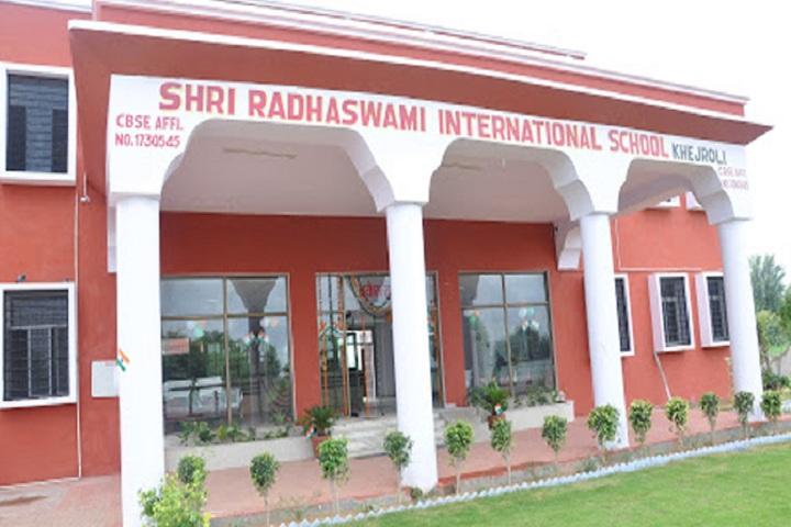 Shri Radhaswami International School-Campus-View front