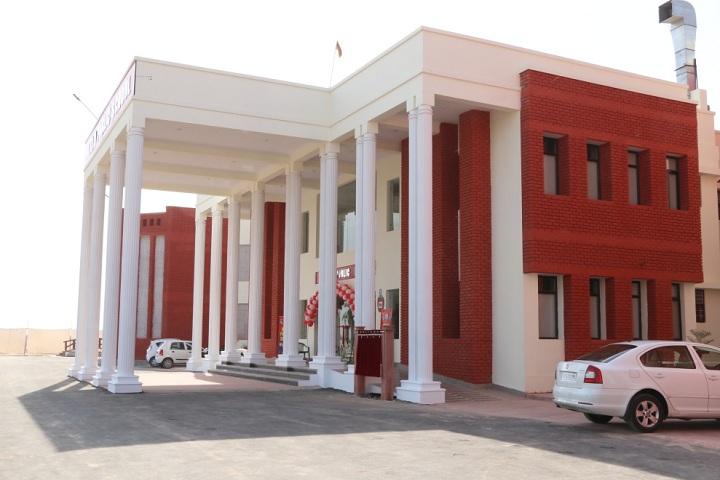 Shri Uttam Public School-Campus-View front