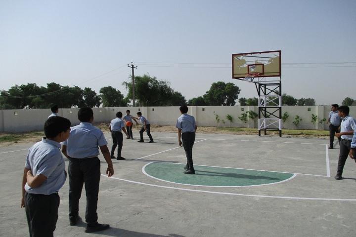 Shri Uttam Public School-Sports basketball
