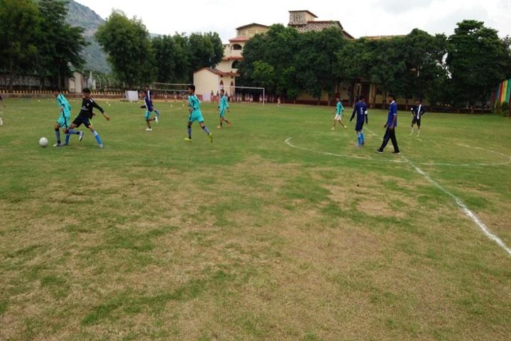 Silver Oak School-Football