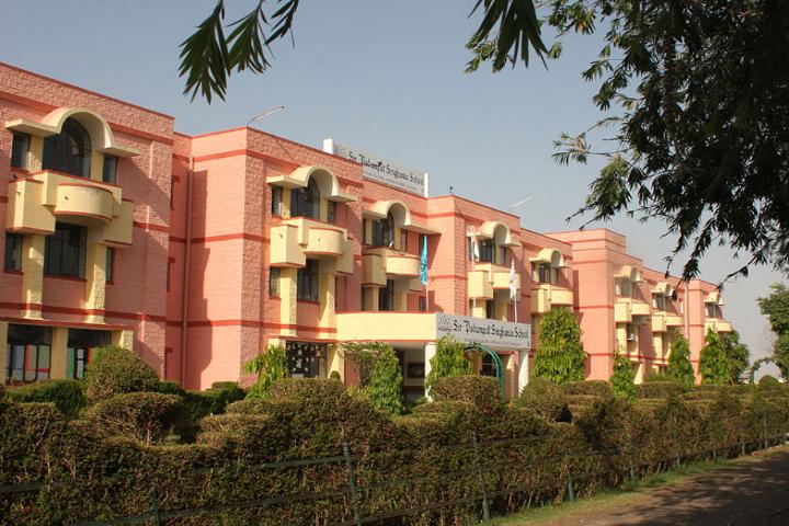 Sir Padam Pat Singhania School-Campus Front View