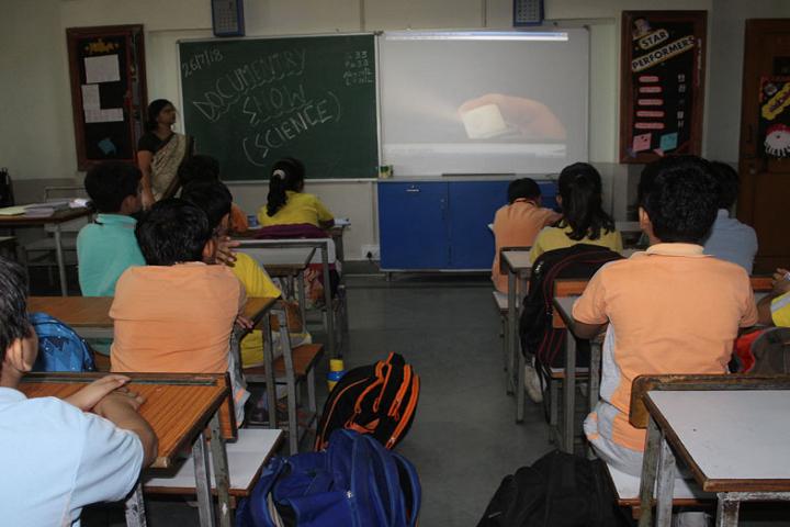 Sir Padam Pat Singhania School-Classroom