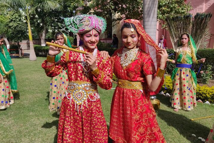 Sir Padam Pat Singhania School-Festival Celebration