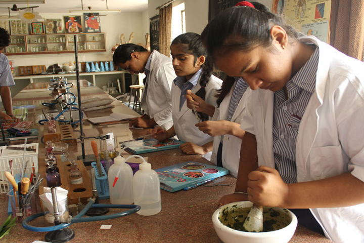Sir Padam Pat Singhania School-Chemistry Lab