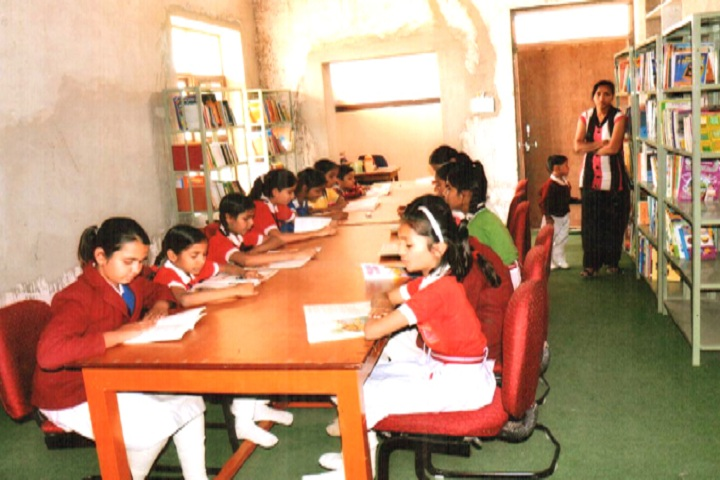 Smt Chunki Devi Mahadeo Lal Bhomrajka KVS Public School-Library