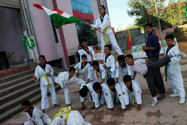 Sneh Public School-Republic Day