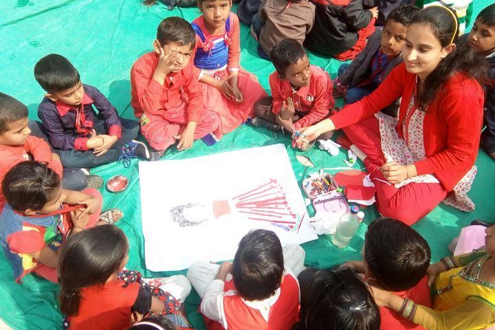 Sneh Public School-Drawing