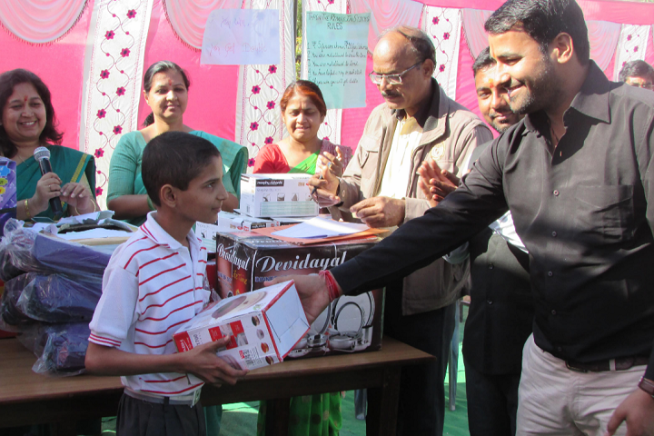 Sneh Public School-Prize Distribution