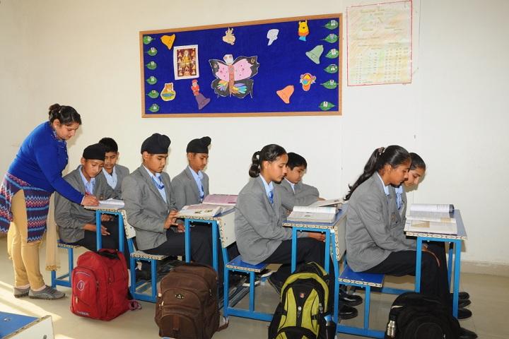 Soham International School-Exam Hall