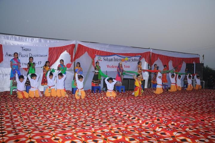 Soham International School-Prize Distribution Event