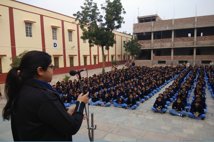 Sophia Secondary School-Assembly