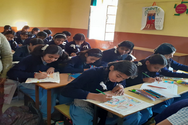 Sophia Secondary School-Drawing Competition