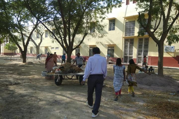 Sophia Secondary School-Swachh Bharat Abhiyan