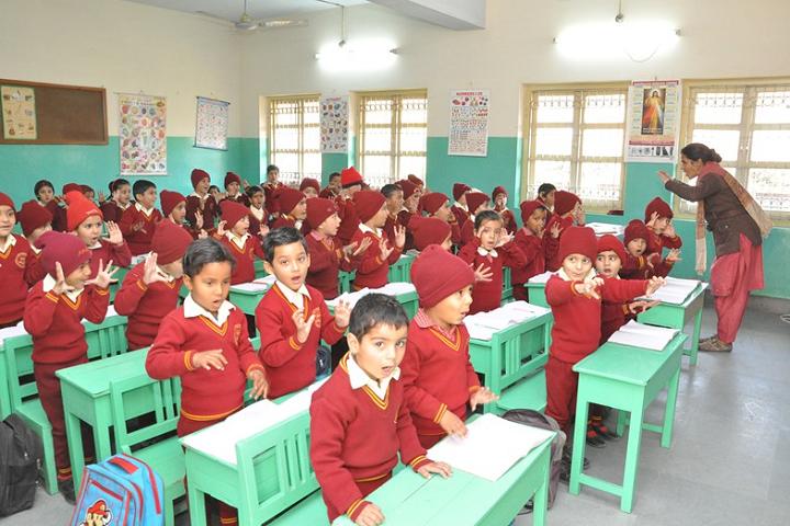 Sophia Secondary School-Classroom