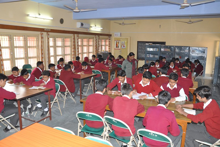 Sophia Secondary School-Library
