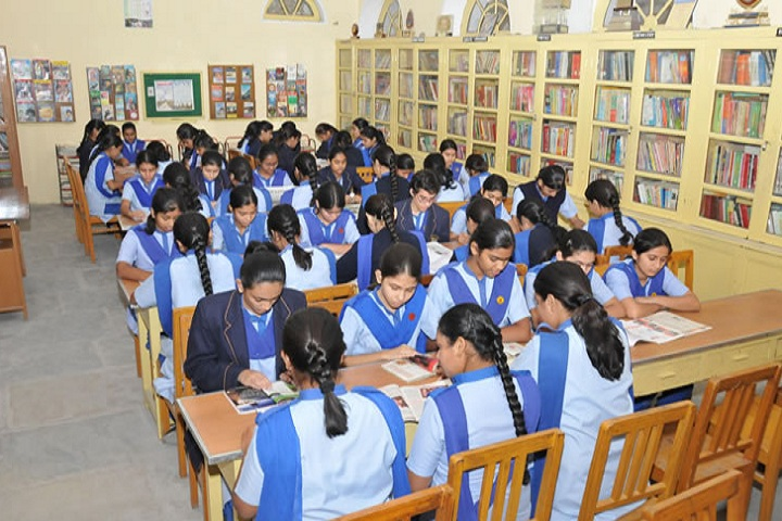 Sophia Senior Secondary School-Library