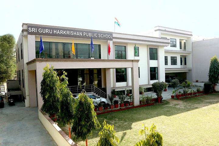 Sri Guru Harkrishan Public School-Campus-View full