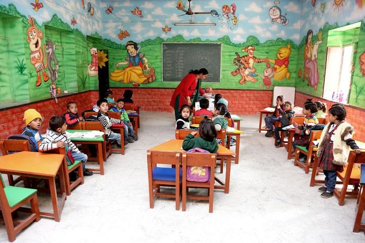 Sri Guru Harkrishan Public School-Classroom