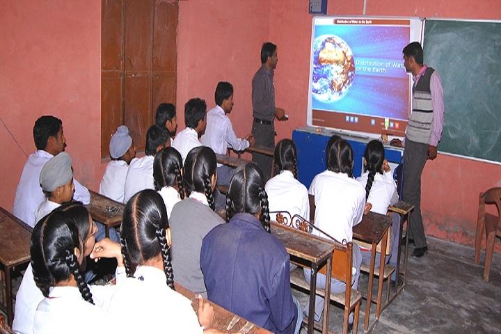 Sri Gururam Rai Public School-Classroom smart