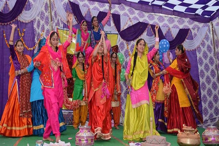 Sri Gururam Rai Public School-Events dance