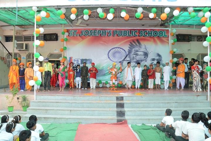 St Joseph Public School-Events independance day