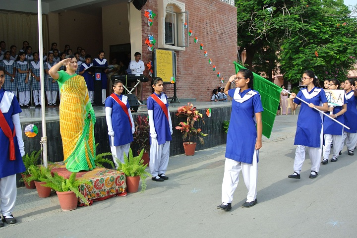 St MaryS Convent Senior Secondary School-Events independance day programme