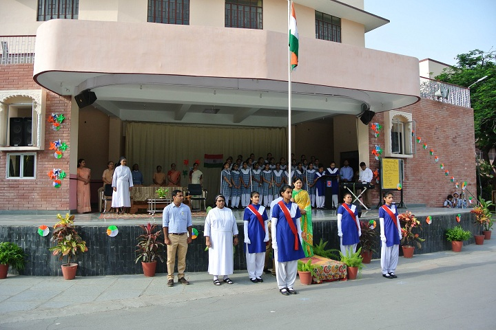 St MaryS Convent Senior Secondary School-Events independance day