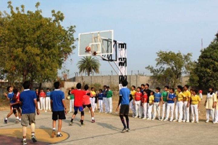 St PaulS Public School-Sports basketball